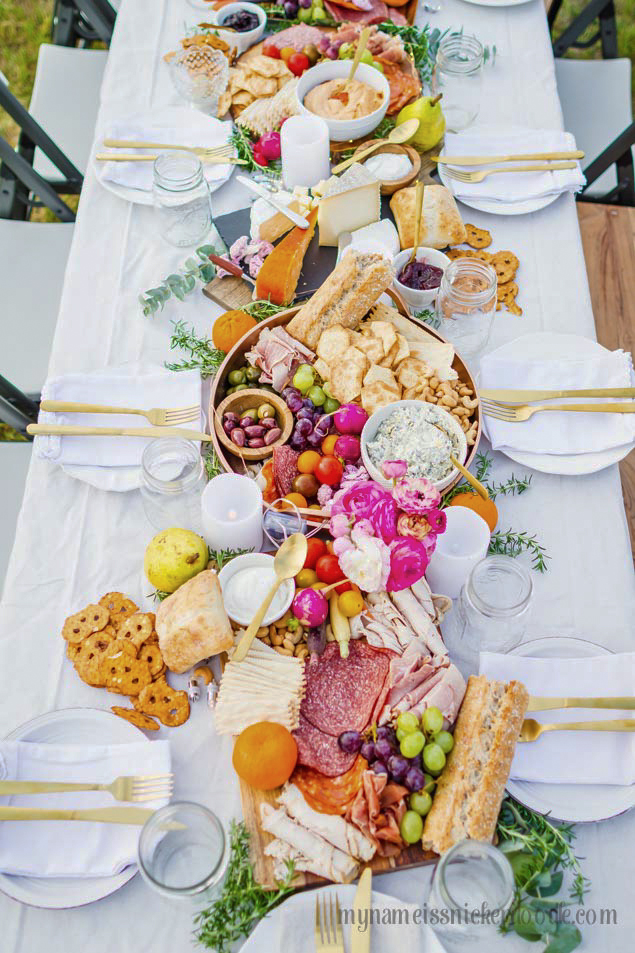 Charcuterie Tray Birthday Party