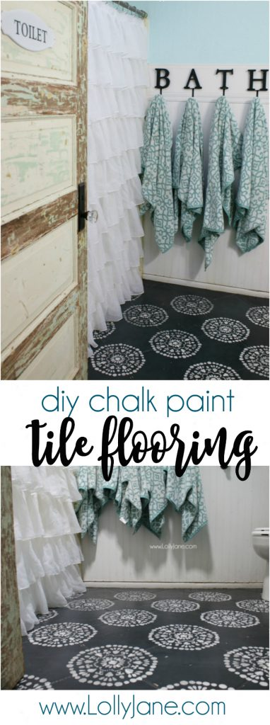 paint tile floors