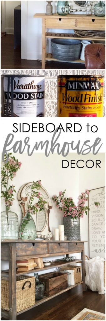 Such an insane Ikea hack! The before is so boring, adore this sideboard makeover!!