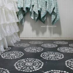 Hate your tile floors? Paint them!