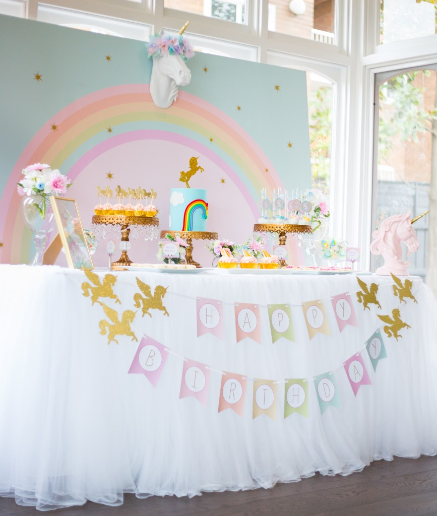 17 unicorn party ideas lolly jane for Decoration licorne chambre