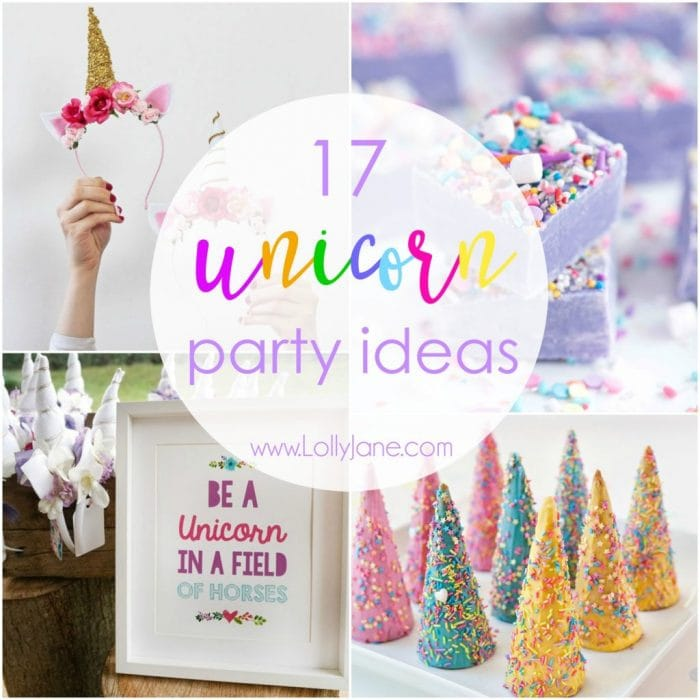 Dirt Cheap Decor Play Kitchen And Food Diy: 17 Unicorn Party Ideas