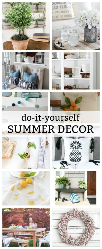 Diy hanging wall banner do it yourself summer decor tutorials a round up of the cutest solutioingenieria Gallery