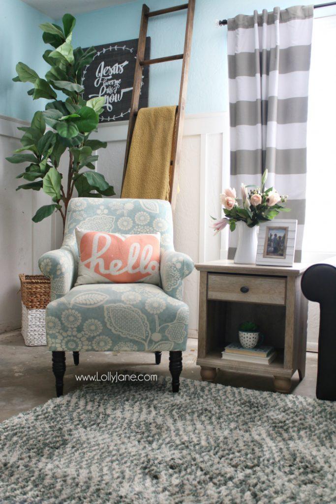 Fresh farmhouse family room decor lolly jane for Bhg shopping