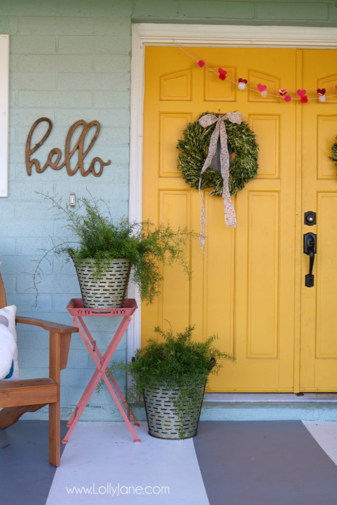 Coral Painted Front Doors Lolly Jane