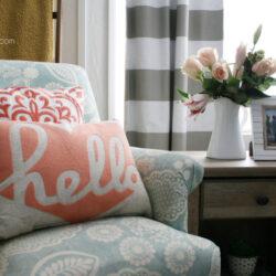 fresh farmhouse family room decor