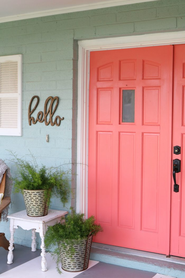 Loving These Bright Front Doors! So Easy To Make A Statement With Bold Front  Door