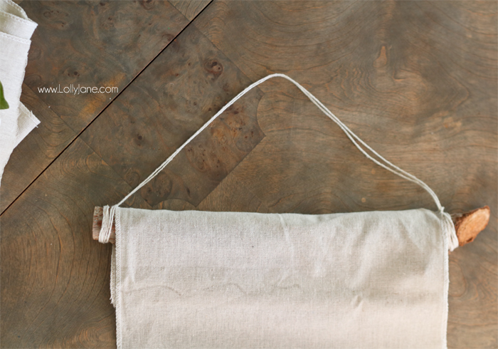 DIY Hanging Wall Banner, summer style! So easy!!! Made in less than 20 minutes for under $10!
