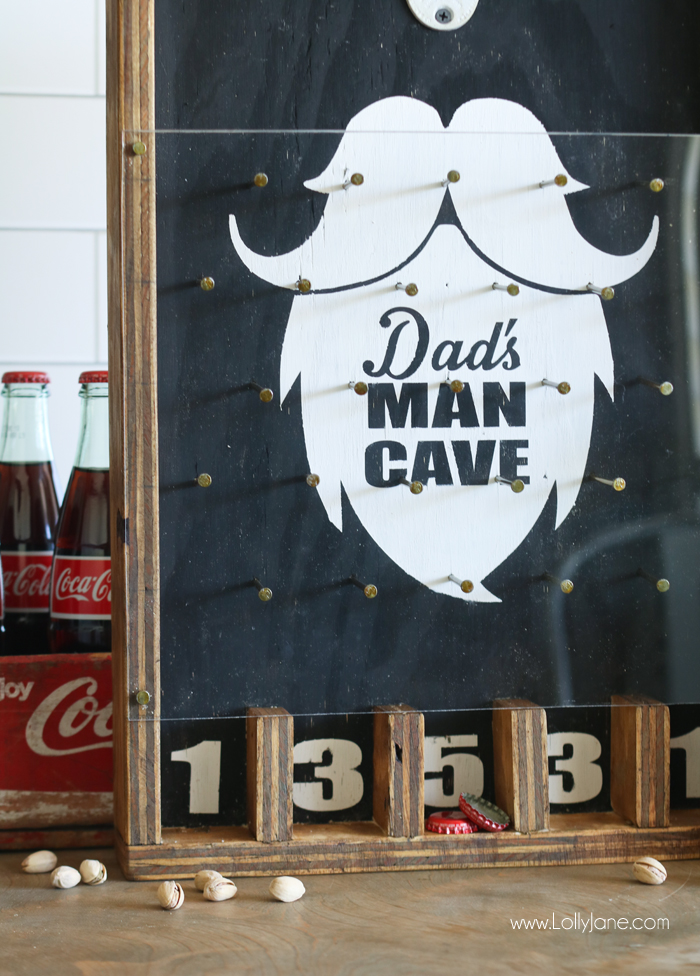 DIY Plinko Board Game. Perfect for parties, pubs, man caves, gifts for guys, or a garage!