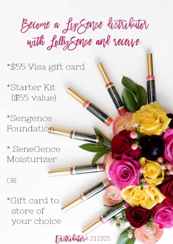 Join the fastest growing makeup company! Sign up with LollySense to receive a FREE wholesale membership! Access to 20-50% off!