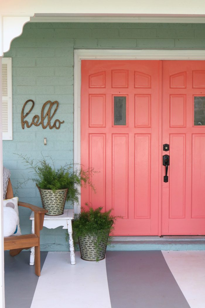 Attirant Loving These Bright Front Doors! So Easy To Make A Statement With Bold Front  Door