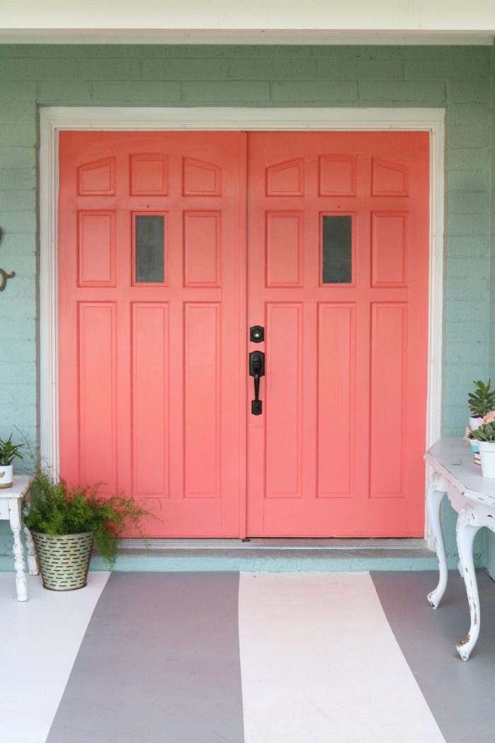 Etonnant Loving These Bright Front Doors! So Easy To Make A Statement With Bold Front  Door