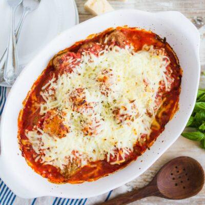 meatball parmesan casserole recipe