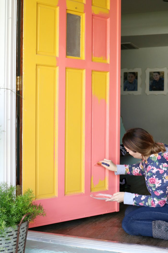 Merveilleux Loving These Bright Front Doors! So Easy To Make A Statement With Bold Front  Door