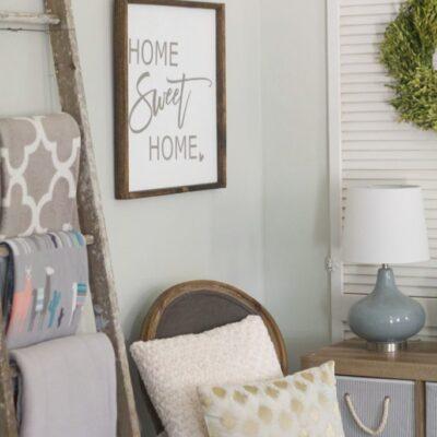 easy family room storage solution idea
