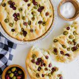 Olive Focaccia Bread recipe