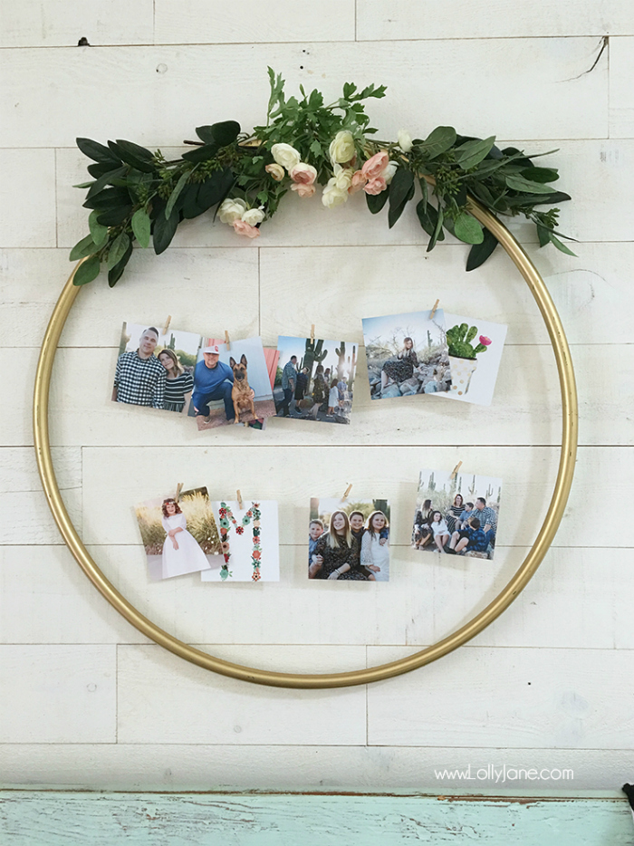 Diy Hula Hoop Display Lolly Jane