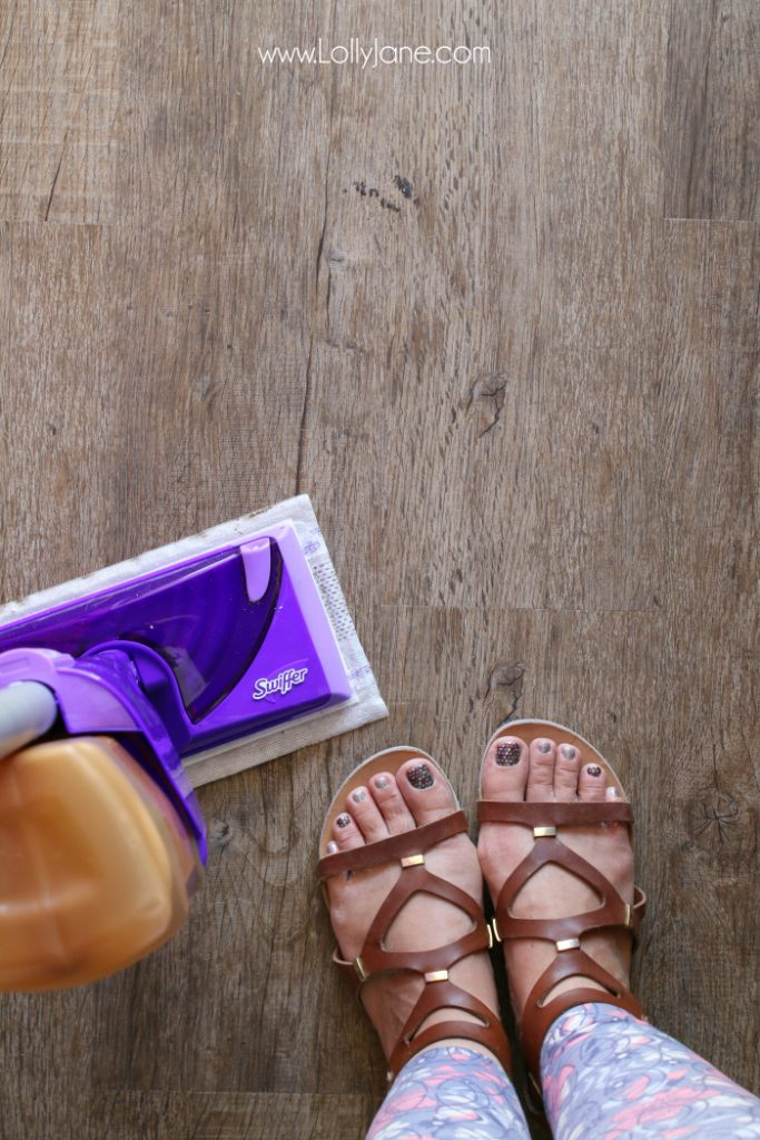 The easy way to keep hardwood floors clean. Streak free, fast drytime, don't spend hours cleaning!