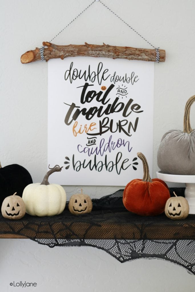 Halloween printable art