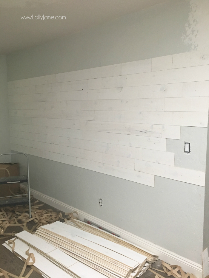 Have You Heard Of L And Stick Shiplap Total Time Saver Love