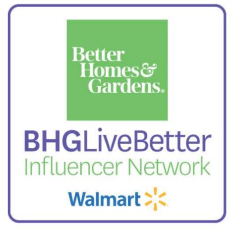 BHG Live Better Influencer Network blogger
