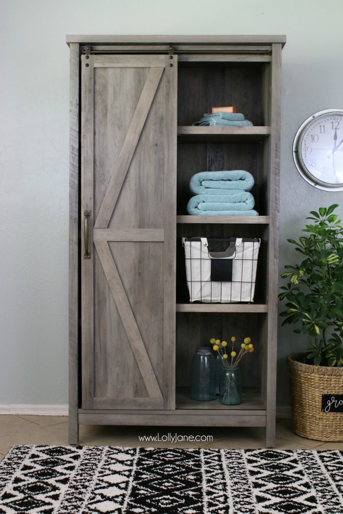 Affordable Farmhouse Laundry Room Makeover Lolly Jane