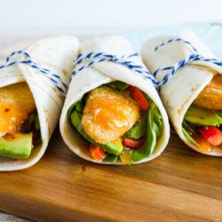 Easy Sweet Chili Fish Wraps recipe
