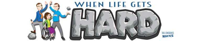 When Life Gets Hard Conference! Get uplifted and get a 15% off discount whe using LOLLYJANE