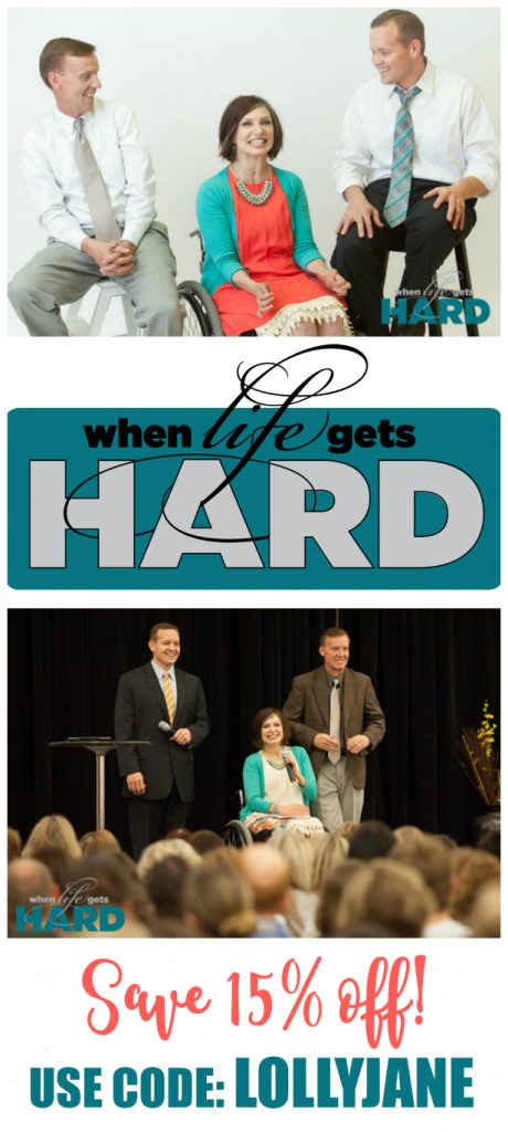 Need a boost in life? Attend the When Life Gets Hard Conference to hear from amazing speakers! Grab your When Life Gets Hard Conference Discount Tickets when using LOLLYJANE | Such a great, uplifting conference! Love this When Life Gets Hard conference with Hank Smith, Meg Johnson and John Bytheway!