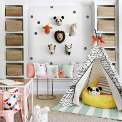 Creative & Fun Kids Playroom Ideas