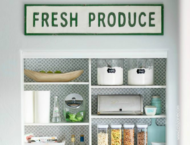 Learn How To Organize A Small Pantry And Make It Feel Twice As Big With These Ideas And Tricks. Whether Your Kitchen Pantry Is Large Or Small, Here Are 6 Tips To Help You Organize A Pinterest-Worthy Pantry For Your Kitchen. #howtoorganizepantry #howtoorganizesmallpantry #smallpantry #pantry #pantryorganization #howto #tipsandtrick