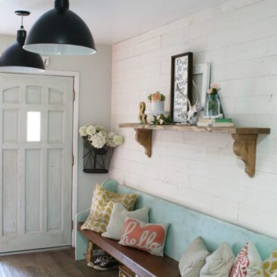 How To Apply Peel and Stick Shiplap