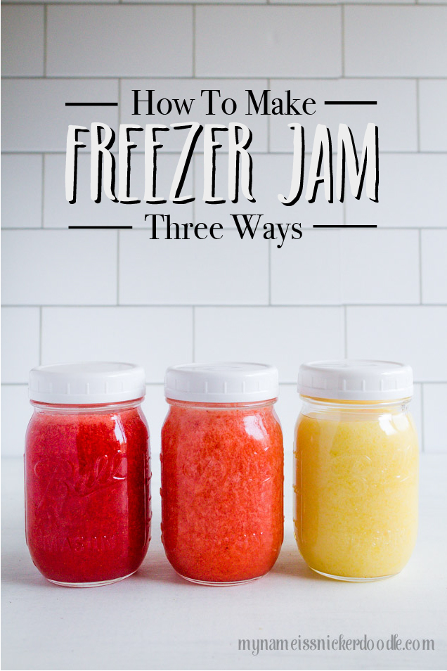 How to Make Freezer Jam like a pro! So easy!