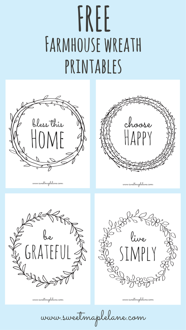 photograph regarding Printable Farmhouse Signs called 9 farmhouse printables in the direction of comfy up your property - Lolly Jane