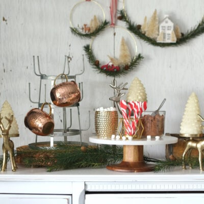 easy hot chocolate station ideas