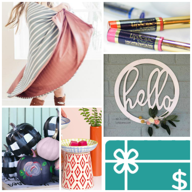 Annual Favorite Things Giveaway!! Loads of prizes to win but also a great gift guide for holiday 2017 shopping from your favorite bloggers!