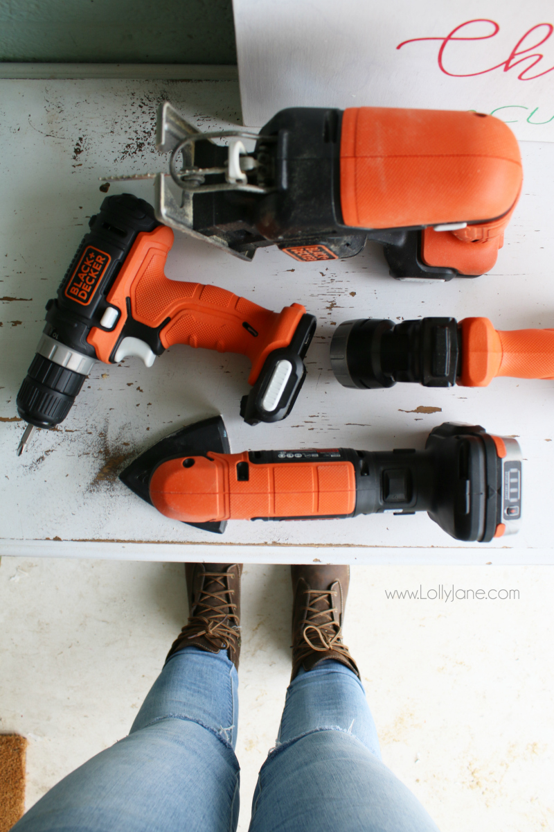Black and Decker GoPak 4 tool combo set | Love this cordless tool set, super easy to use and very affordable!