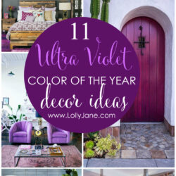 11 ways to decorate with Ultra Violet
