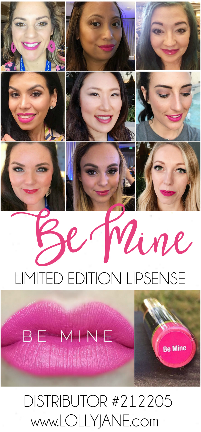 Loving this hot me lipcolor, Be Mine by LipSense! Be Mine LipSense limited edition is the perfect sassy date night lipcolor or the best lipcolor for a girl's night out. Love this perfect Valentine's Day lipcolor!