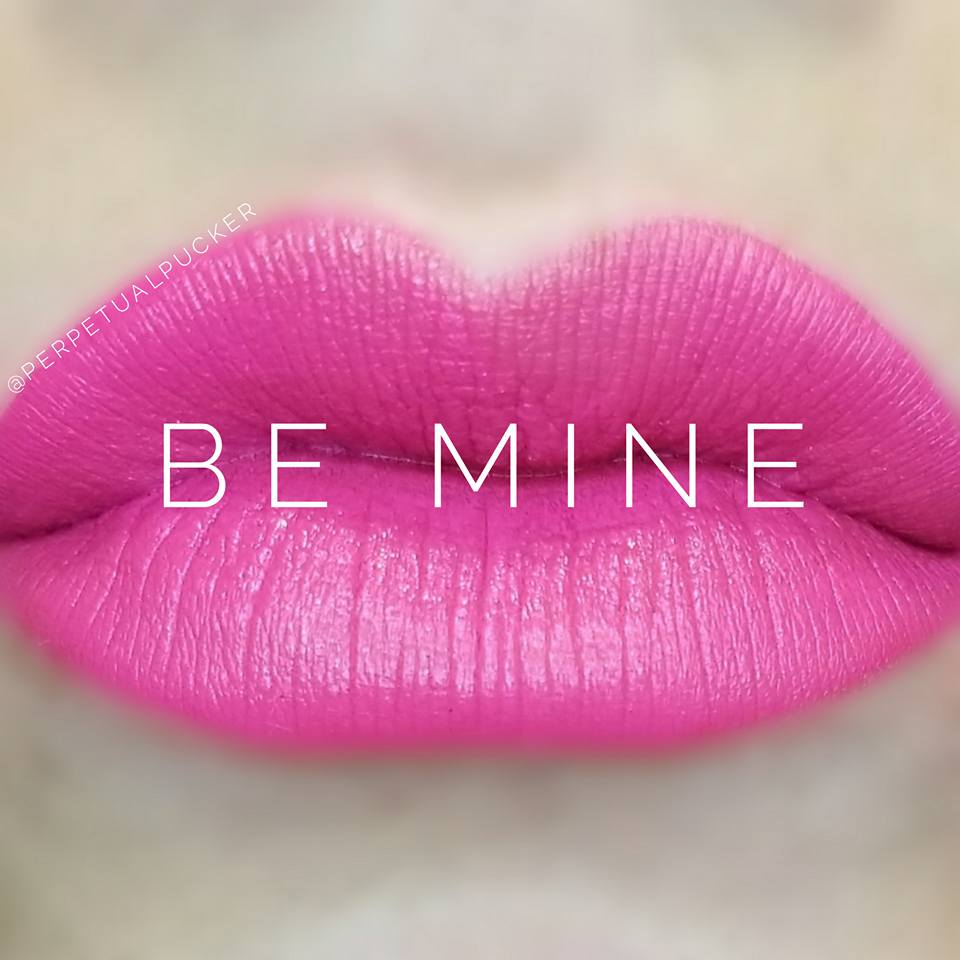 Love this fun Be Mine hot pink LipSense!! Such a fun LipSense color, grab it before it's out of stock as it's a limited edition color!