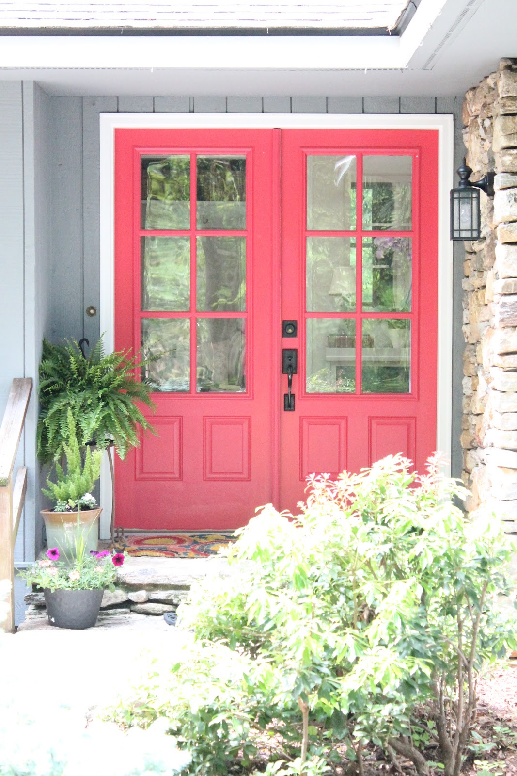 12 Painted Pink Door Ideas, so cute! - Pink Door Ideas - Lolly Jane