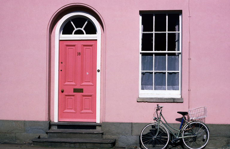 12 Painted Pink Door Ideas So Cute Pink Door Ideas