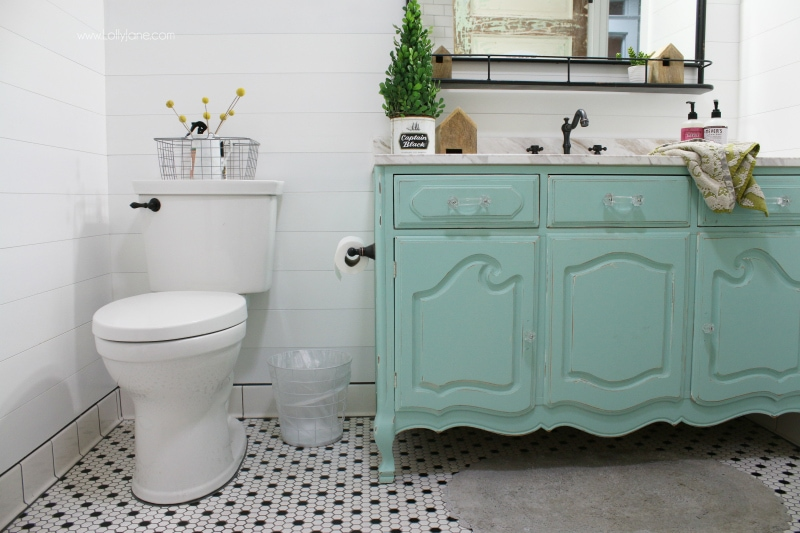 Farmhouse Bathroom Remodel Sources Lolly Jane Best Bathroom Remodeled Set
