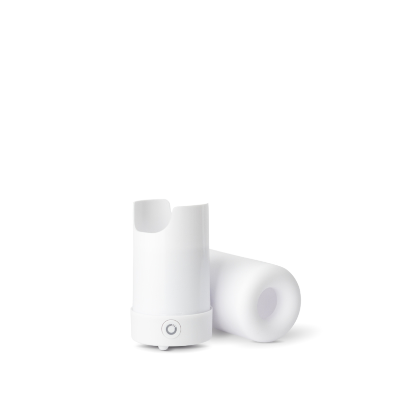 The cleanest way to a good smelling home is through AirMoji by MojiLife! What is AirMoji? It has a tiny fan powered by a rechargeable battery that pushes air up through a pod that is saturated with a luxury fragrance or essential oils. No heat, flames, candles or mess! It's portable and lightweight!