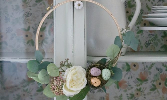 Lolly jane page 3 of 269 diy crafts recipes and more easy do easy spring embroidery hoop wreath solutioingenieria Images