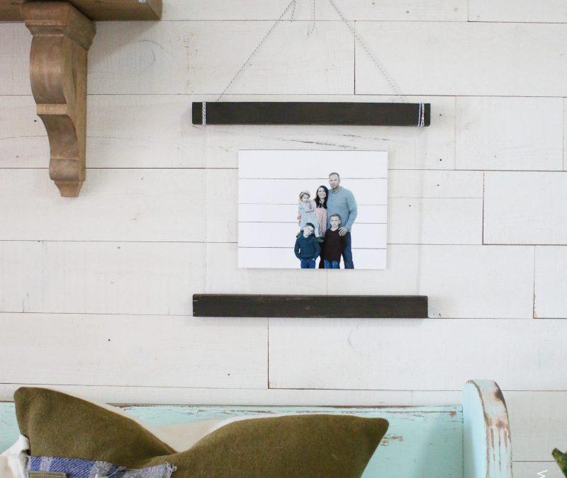 Acrylic Scroll Wood Hanging tutorial