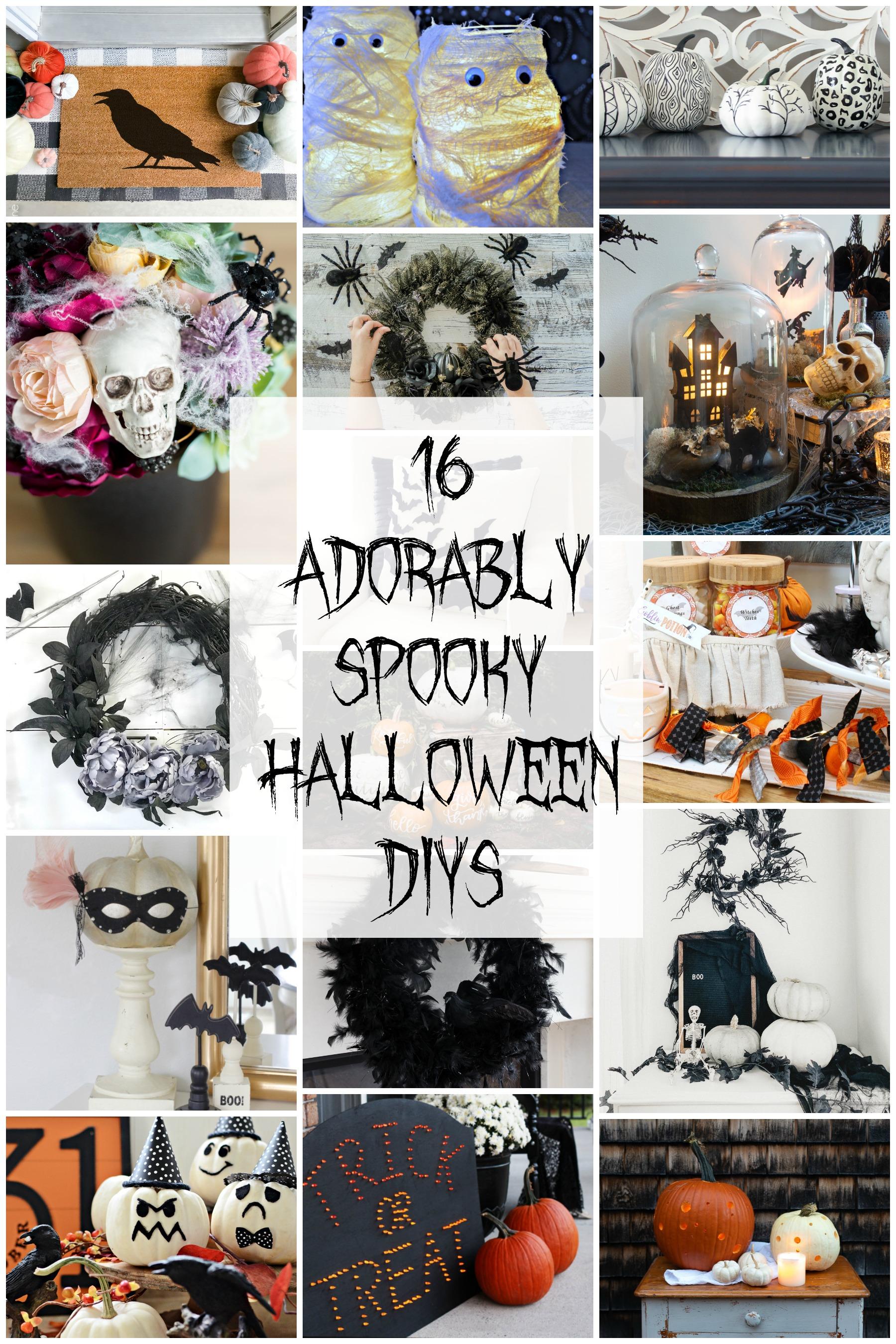 16 adorably spooky halloween DIYs