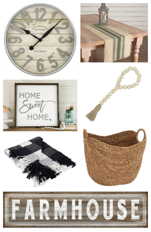 Farmhouse gifts for the Fixer Upper fans! Love these farm friendly gift ideas for the farmhouse style decorator! #farmhouse #farmhousestyle #farmhousegifts