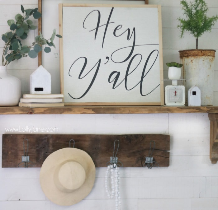How to Frame a Canvas the Easy Way - Lolly Jane