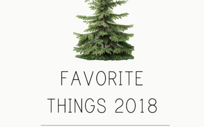 Favorite Things 2018